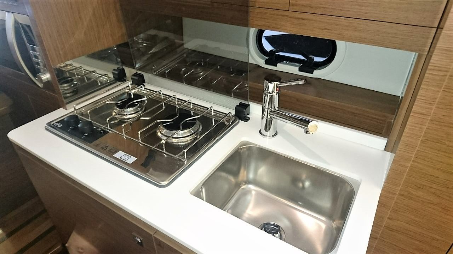 Jeanneau Cap Camarat 10.5 WA (Jeanneau Cap Camarat 10.5 WA) sink,stove - 39