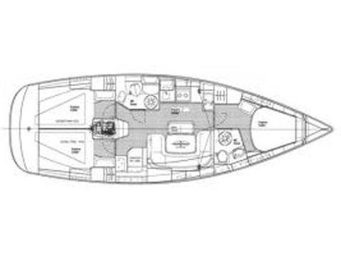 Bavaria 39 Cruiser (B39-1) Plan image - 1