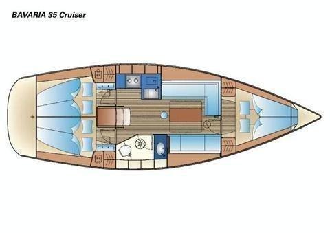 Bavaria 35 Cruiser (B35-1) Plan image - 2