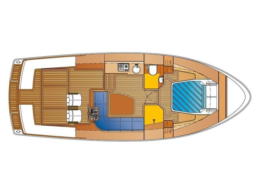 Bravoure 34 Cabrio (Drait 140) Plan image - 8