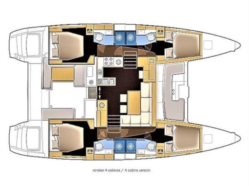 Lagoon 42 (Aero) Plan image - 19