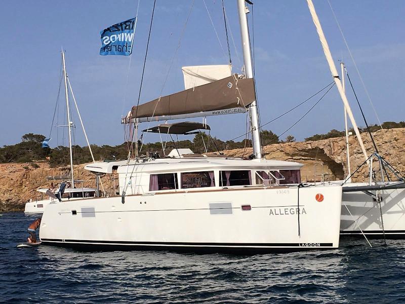 Lagoon 450 4 cabin (Allegra)  - 18