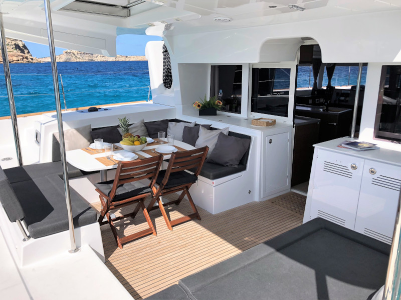 Lagoon 450 4 cabin (GENIA)  - 10