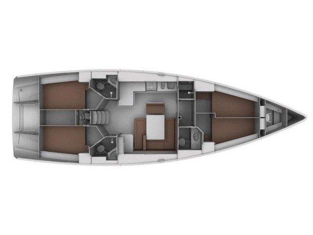 Bavaria Cruiser 45 (Renaisance) Plan image - 1
