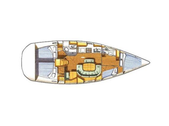Oceanis 411 Clipper (Nemesis) Plan image - 5