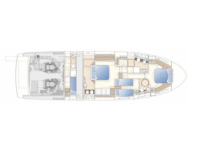Ferretti 620 (Kimon) Plan image - 14