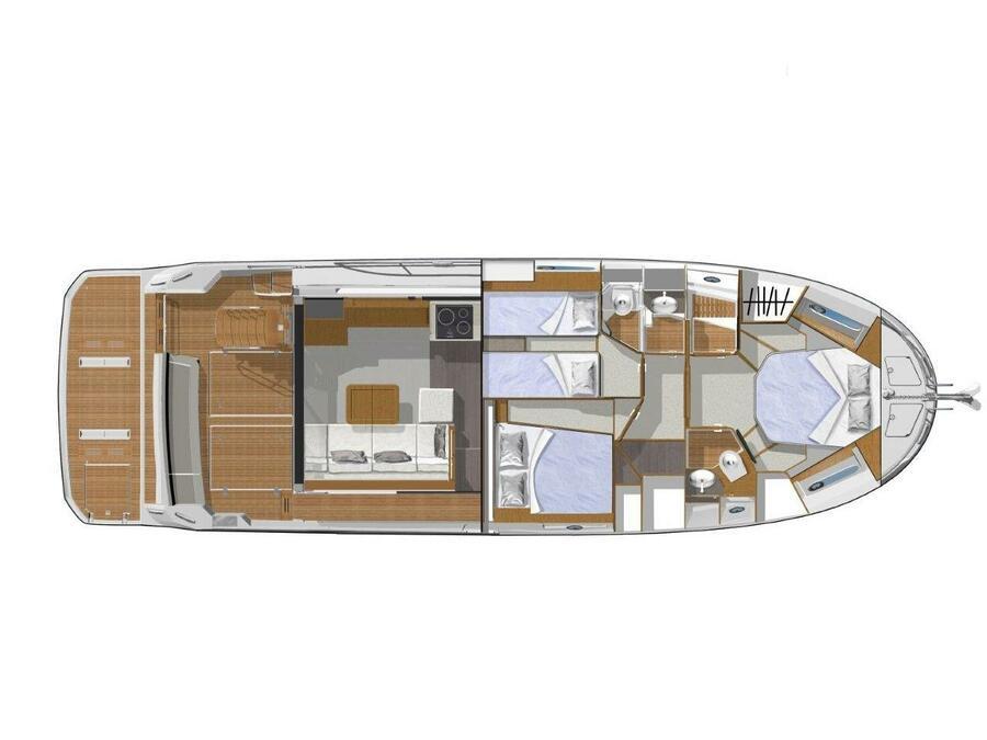 Swift Trawler 47 (2020) (SWIFT TRAWLER 47 (2020)) Plan image - 2