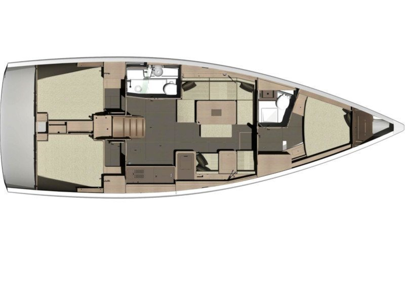 Dufour 412 Grand large (Perfect Candidate) Plan image - 1