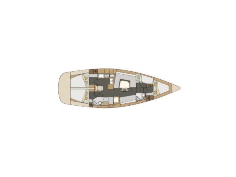 Elan 45 Impression (Mladena) Plan image - 2