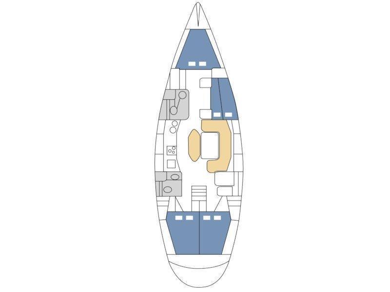 Salona 45 (Beba) Plan image - 4