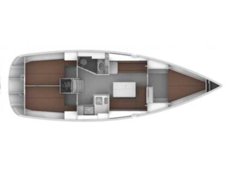 Bavaria Cruiser 36 (Papra) Plan image - 1