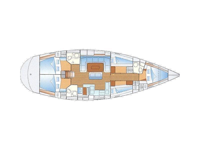 Bavaria Cruiser 50 (Tessan) Plan image - 1