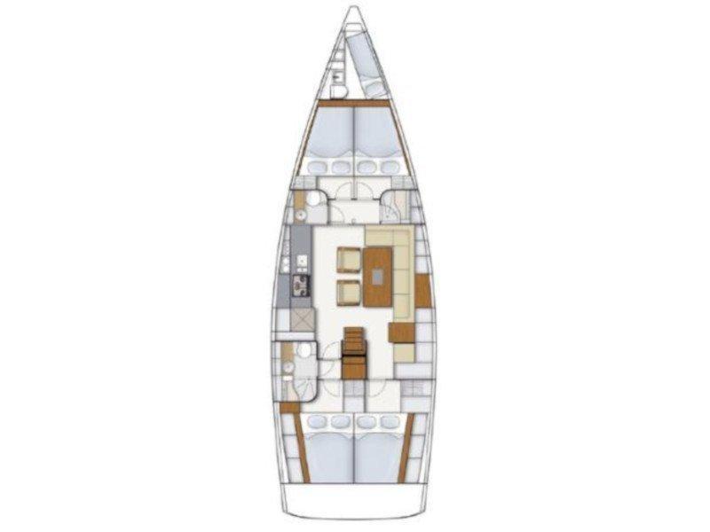 Hanse 495 (Andrey) Plan image - 8