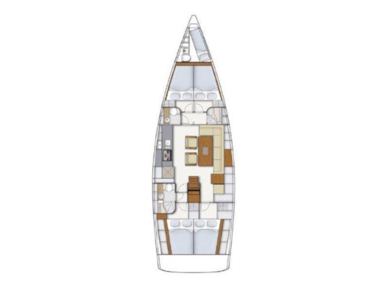 Hanse 495 (KairosKairos) Plan image - 7