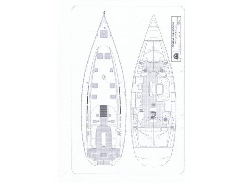 Sun Odyssey 49 (Violeta) Plan image - 3