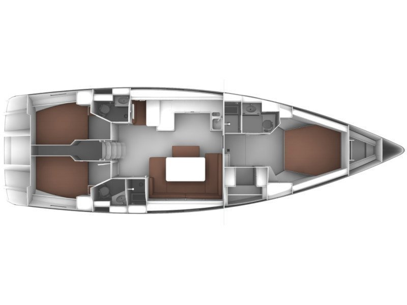 Bavaria Cruiser 51 (Vickan) Plan image - 3