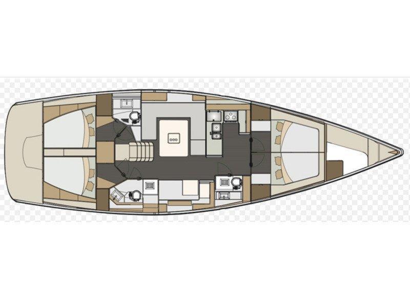 Elan 50 Impression (Sea Eagle) Plan image - 5