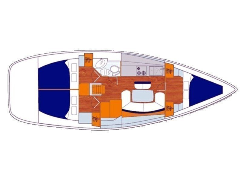 Cyclades 39 (Alize) Plan image - 2