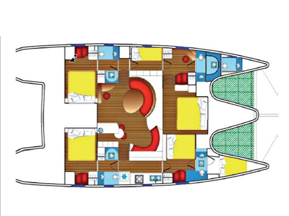 Privilege 615 (Maitia) Plan image - 4