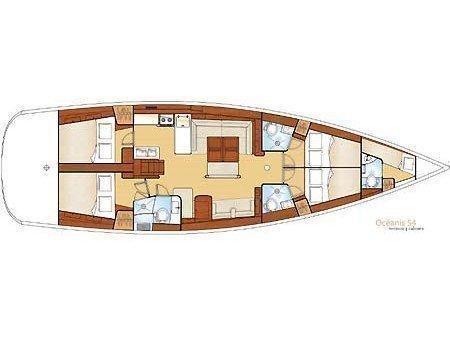 Oceanis 54 (Alex) Plan image - 2