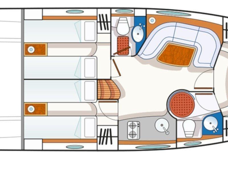 Blu Martin 46 ST (Gilda) Plan image - 3