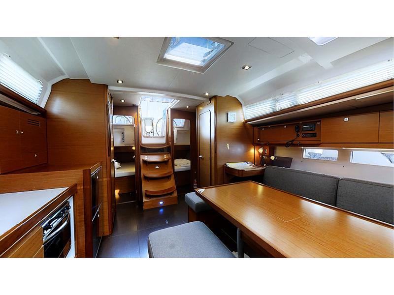 Dufour 460 Grand Large (#001 AC/Gen) Interior image - 12