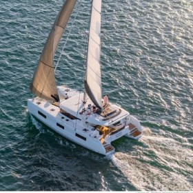 NEW LAGOON 46 FLY (with watermaker, generator & AC, dinghy with console, OB engine 20 HP)