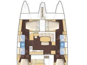 Lagoon 420 (Fantasy - (A/C - Generator)) Plan image - 2