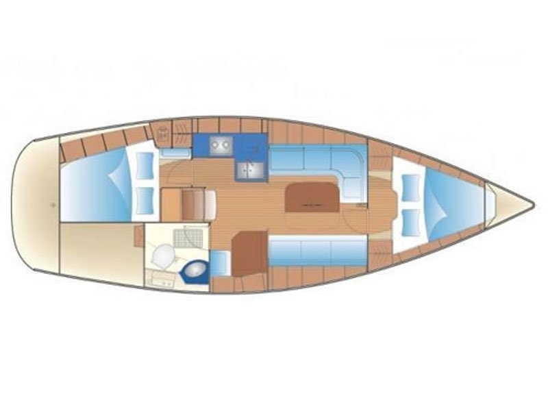 Bavaria Cruiser 34-2 (Why Not) Plan image - 2