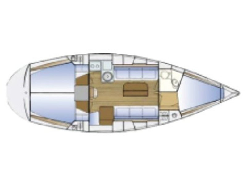 Bavaria Cruiser 34-3 (So What) Plan image - 1