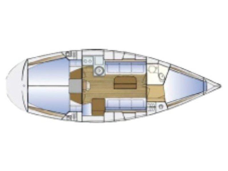 Bavaria Cruiser 34-3 (Elf) Plan image - 2