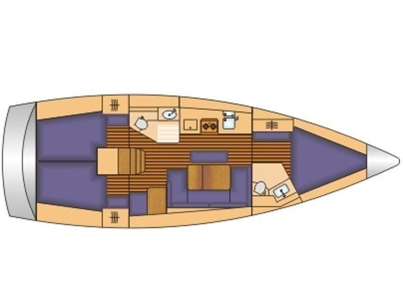 Bavaria 41 (Olga) Plan image - 4