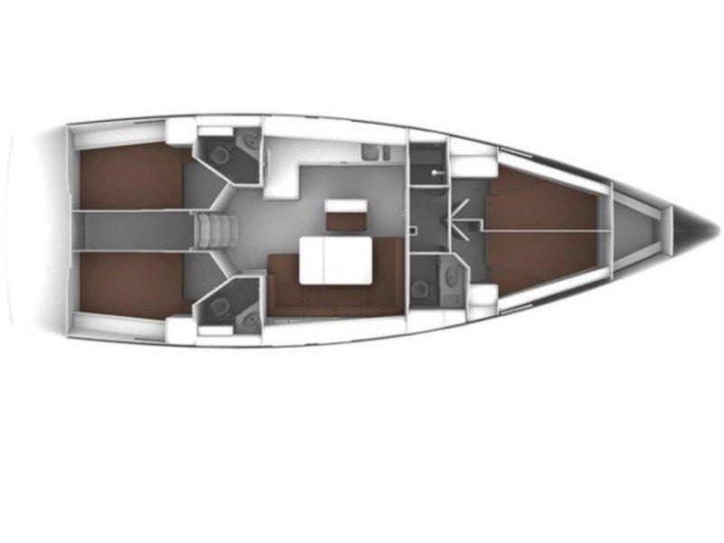 Bavaria Cruiser 45 (Arethousa) Plan image - 8