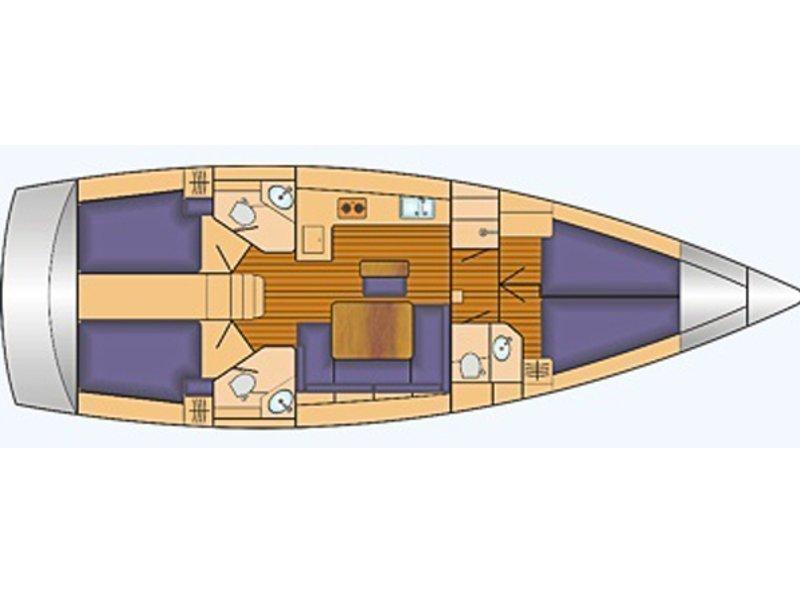 Bavaria Cruiser 46 (Taifun) Plan image - 1