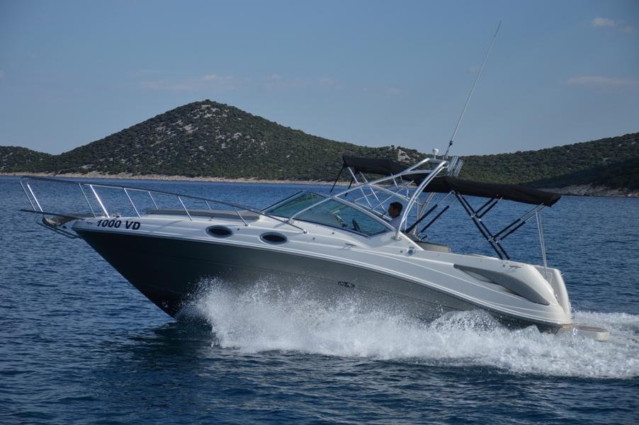 Sea Ray 275 Amberjack (1000 VD)  - 15