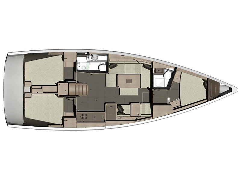 Dufour 410 Grand Large (Aloha 1) Plan image - 15