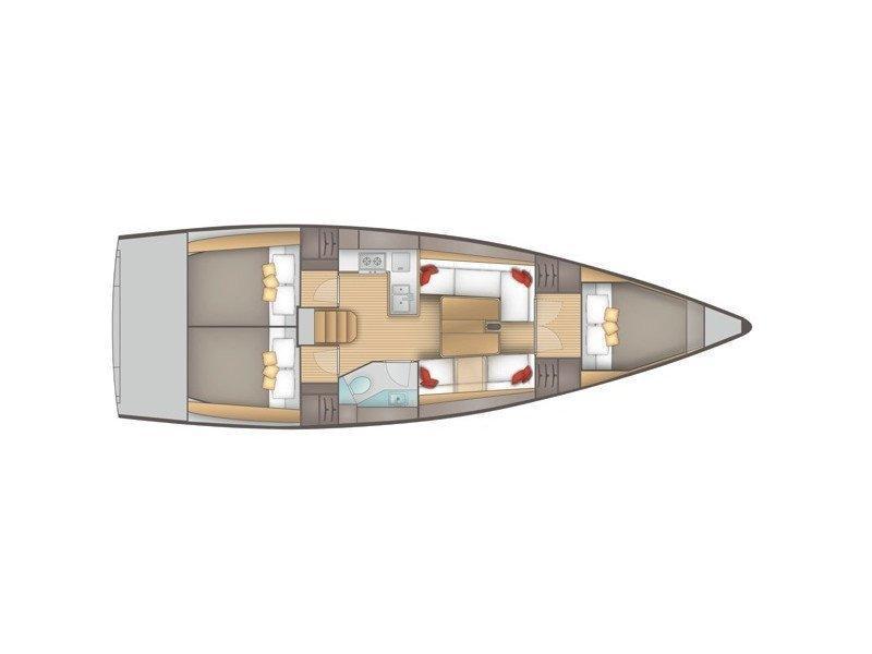Salona 380 (Navis Celere) Plan image - 1