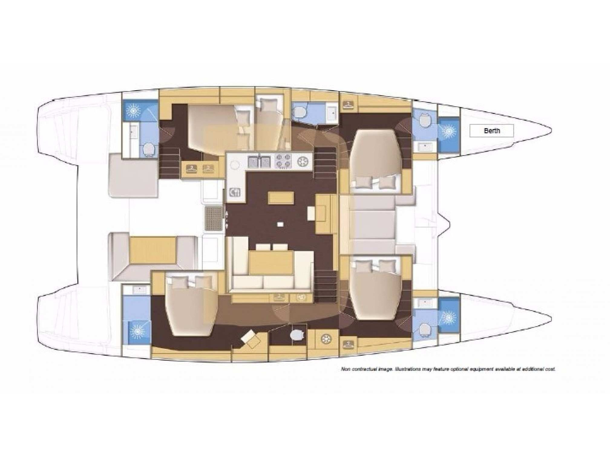 Lagoon 52F (Why Fi) Plan image - 2