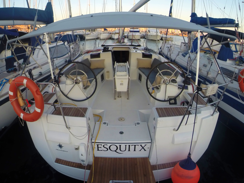 Sun Odyssey 439 (Esquitx) Stern moored - 17