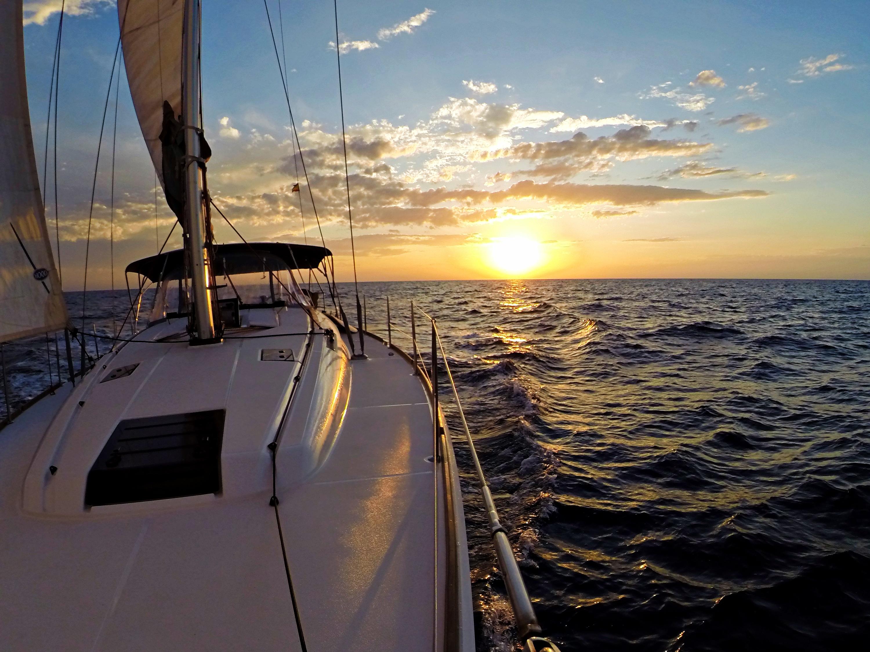 Sun Odyssey 439 (Esquitx) Sunset sailing - 29