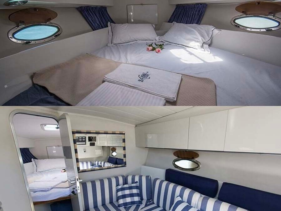 Pershing 33 (Napar - Available for daily charter only - 0 night) Interior image - 3