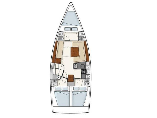 Hanse 385 (Pagode) Plan image - 7