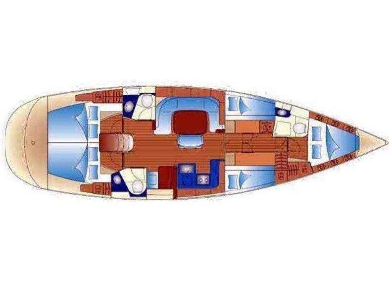 Bavaria 49 (Zuccarella) Plan image - 1