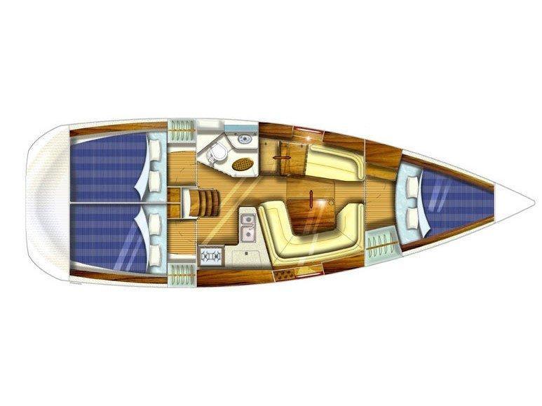 Jeanneau Sun Odyssey 35 (Mastef) Plan image - 17