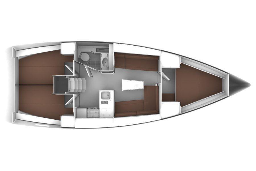 Bavaria Cruiser 37 (Sea Hope)  - 1