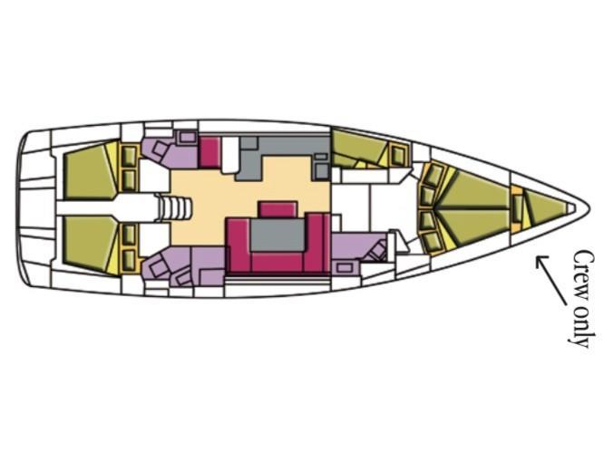 Oceanis 51.1 (Altair) Plan image - 8