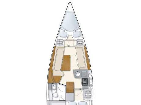 Hanse 325 (Eliza) Plan image - 3