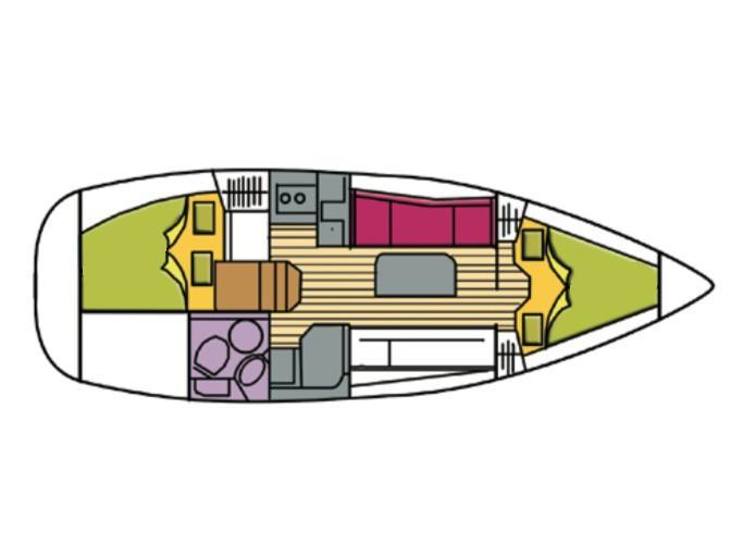 Bavaria 31 Cruiser (Maya) Plan image - 10