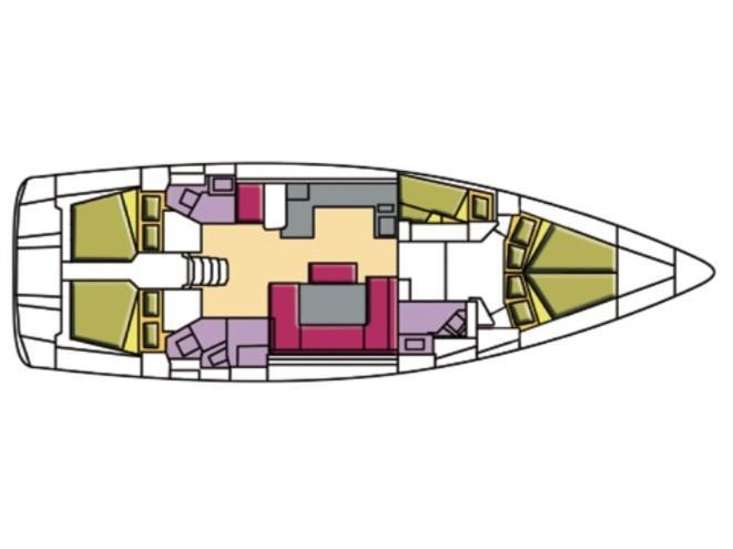 Bavaria Cruiser 51 (Shiba (WM, Inverter)) Plan image - 2