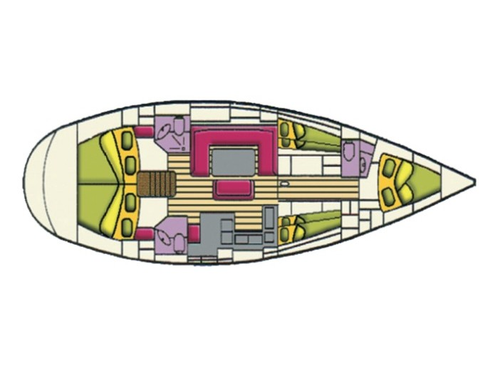 Bavaria 50 Cr (Sirius) Plan image - 10